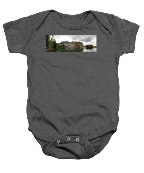 Gilpin Lake Baby Onesie