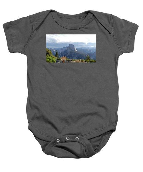 Glacier Point Baby Onesie