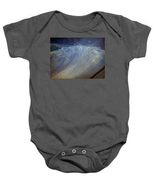 Glacier Texture Baby Onesie