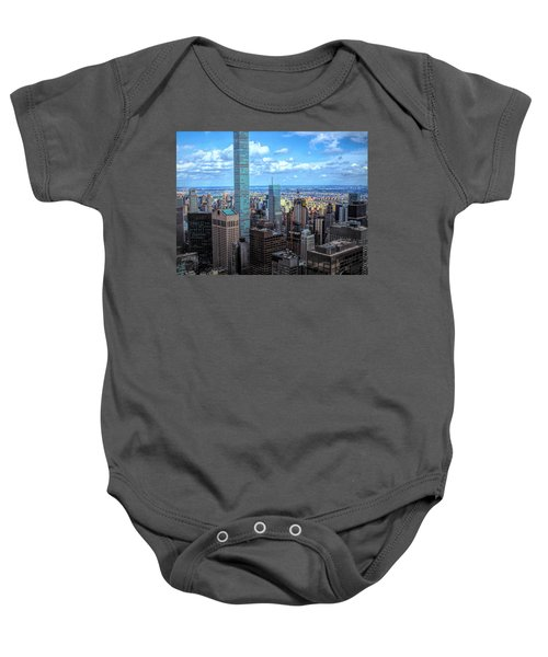 Going Out Of Sight Baby Onesie