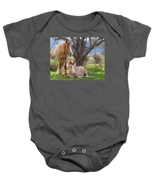 Baby Onesie featuring the photograph Good Mama by Mary Hone