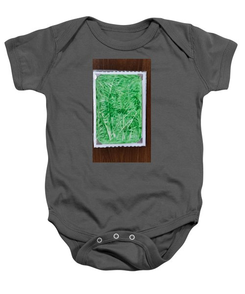 Green Jungle Baby Onesie