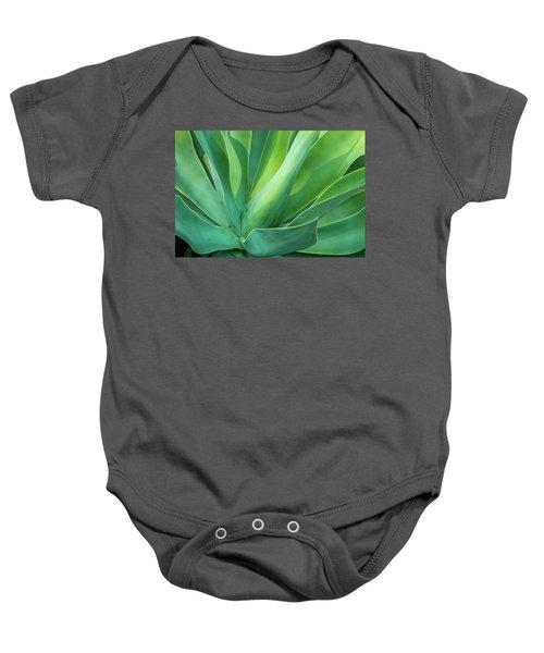 Green Minimalism Baby Onesie