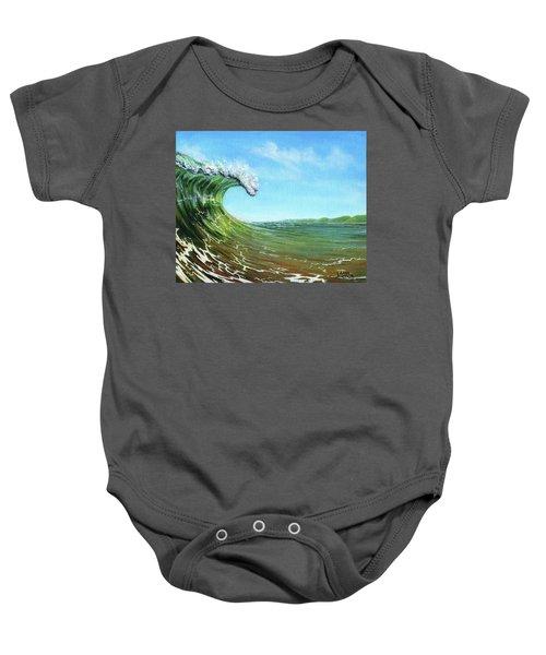 Gulf Of Mexico Surf Baby Onesie