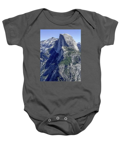 Half Dome From Glacier Point Baby Onesie