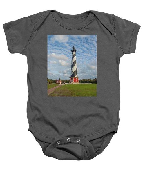 Hatteras Lighthouse Baby Onesie