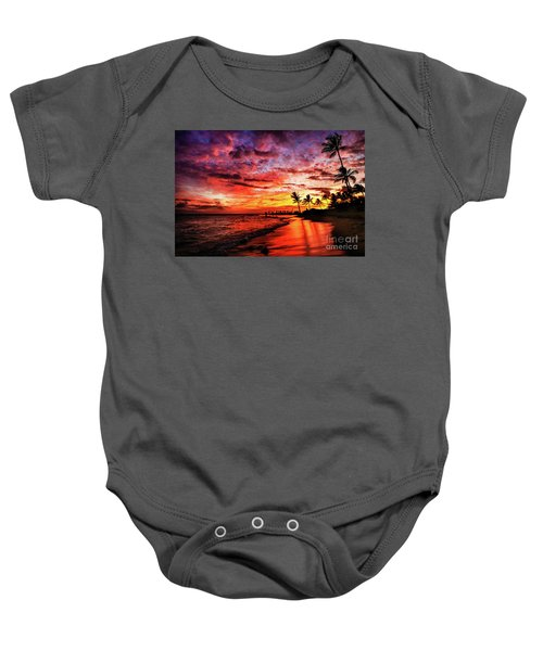 Hawaiian Sunset Baby Onesie