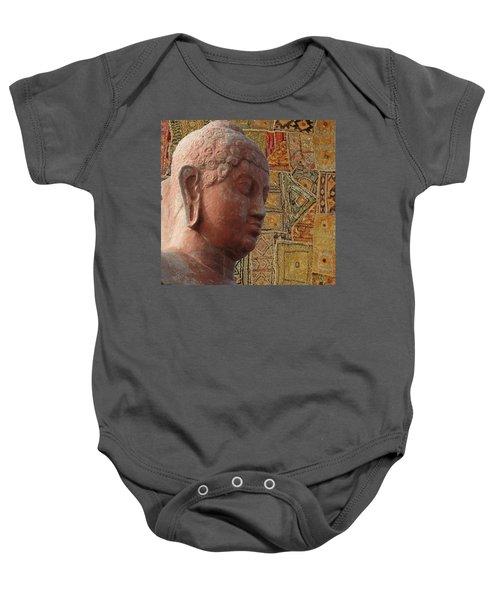 Head Of Buddha,  Baby Onesie