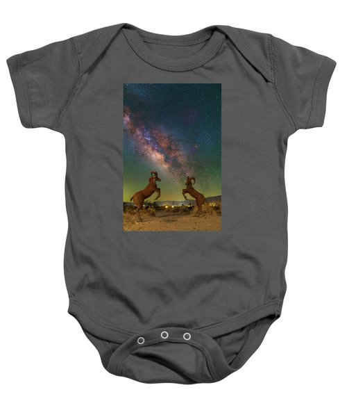 Head To Head With The Galaxy Baby Onesie