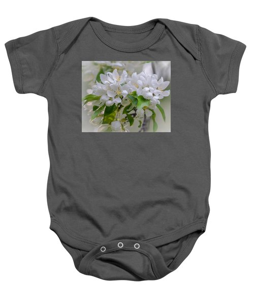 Heavenly Blossoms Baby Onesie