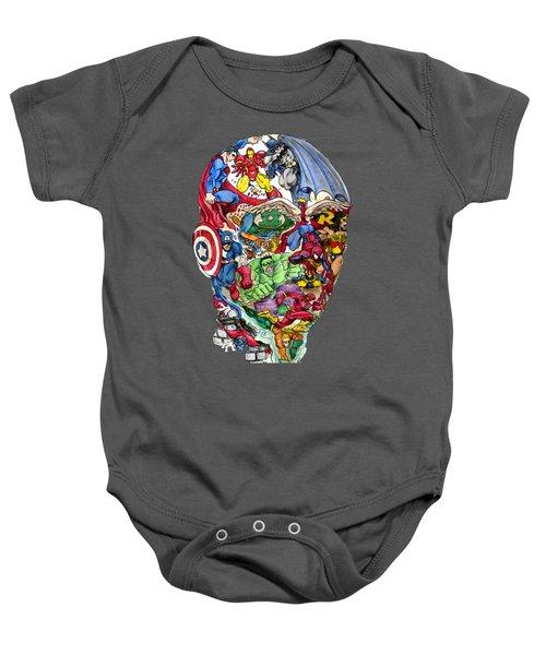 Heroic Mind Baby Onesie
