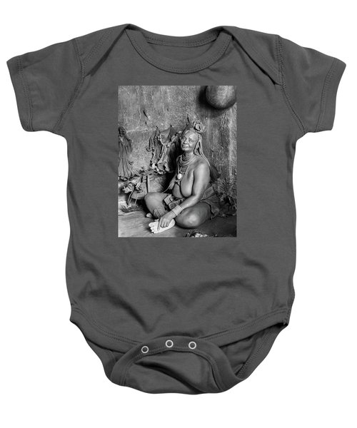 Himba Grand Mother Baby Onesie