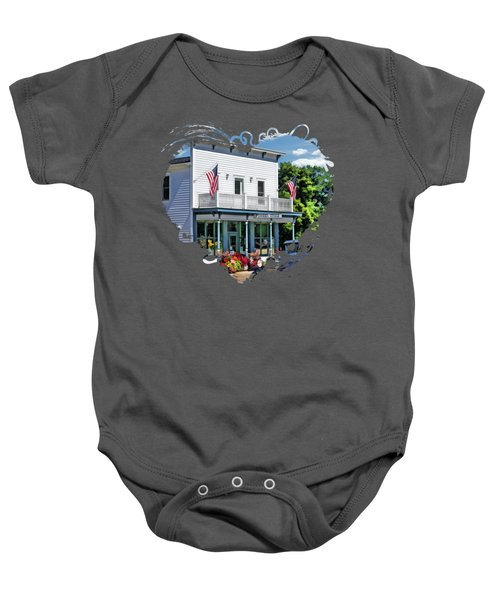 Historic Pioneer Store In Ellison Bay Door County Baby Onesie