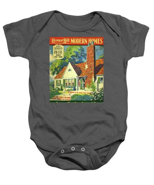 Honor Bilt Modern Homes Sears Roebuck And Co 1930 Baby Onesie