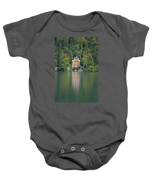 House On The Lake Baby Onesie