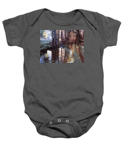 I Made It All For You Baby Onesie