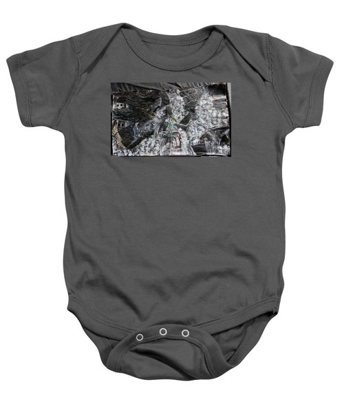 Immersed And Flawed By Cash Flow Baby Onesie