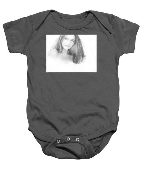 In The Clouds No. 2 Baby Onesie