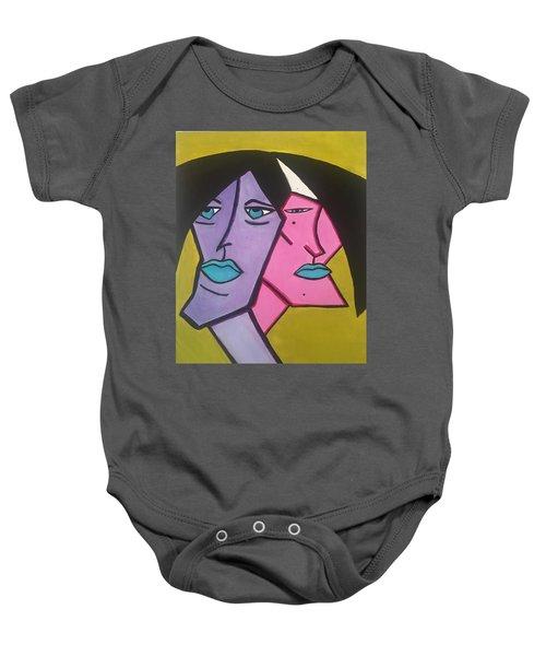 Intertwined Baby Onesie