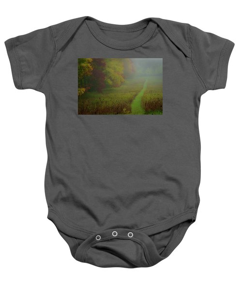 Into The Fog Baby Onesie