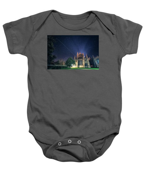 Iss Over Ely Cathedral Baby Onesie