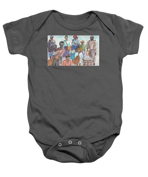 It's Cotton Picking Time At The Spangler Farm In South Alabama Baby Onesie