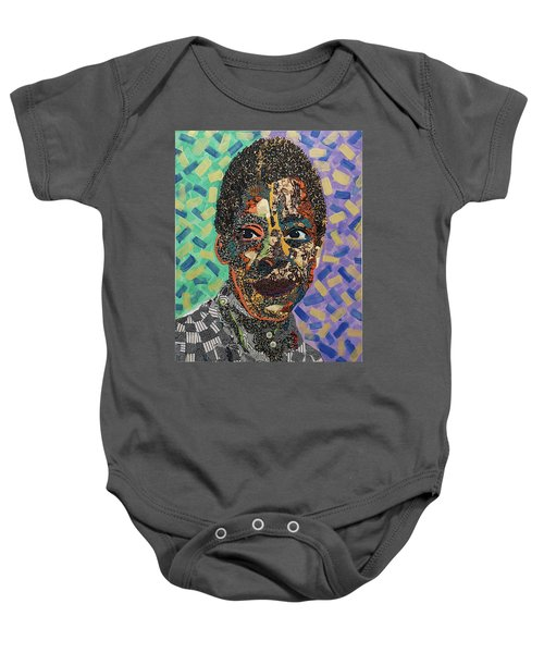 James Baldwin The Fire Next Time Baby Onesie