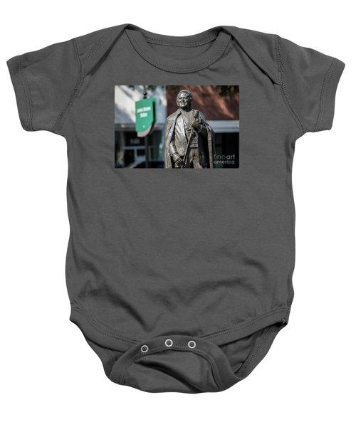 James Brown Statue - Augusta Ga Baby Onesie