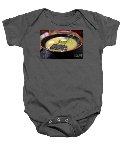Japanese Miso Noodle Soup Baby Onesie