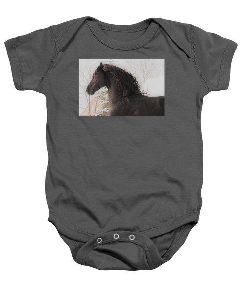 Joy In The Season Baby Onesie