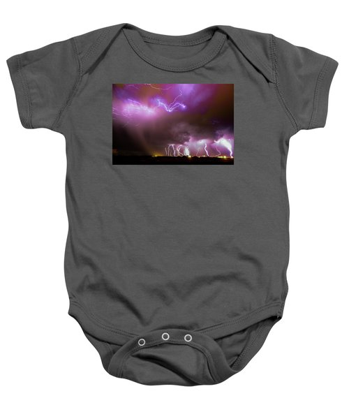 Just A Few Bolts 001 Baby Onesie