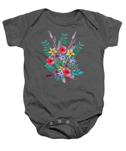 Just Flora II Baby Onesie