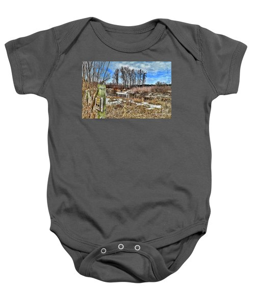 Keep Out Baby Onesie