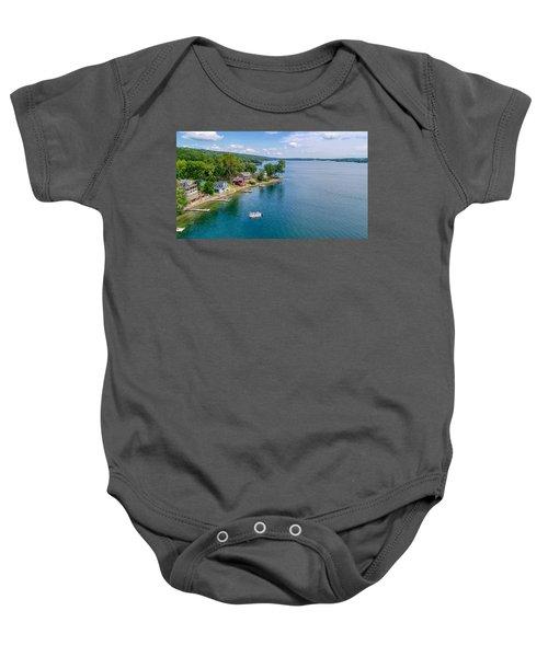 Keuka Boat Day Baby Onesie