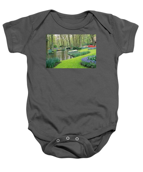 Keukenhof Gardens Baby Onesie