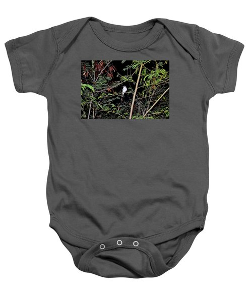 Kingbird At Night Baby Onesie