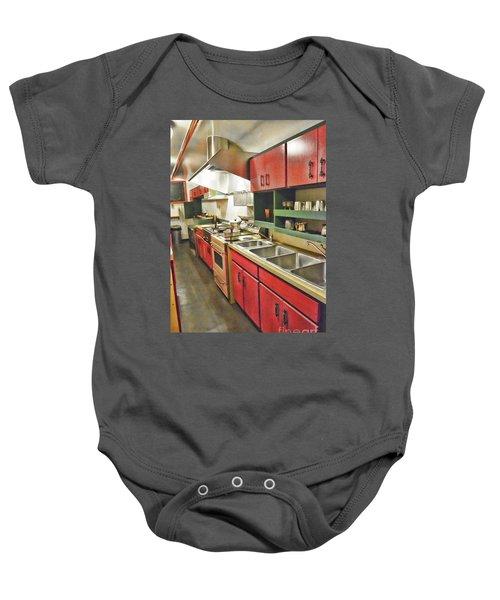 Kitchen Car Baby Onesie