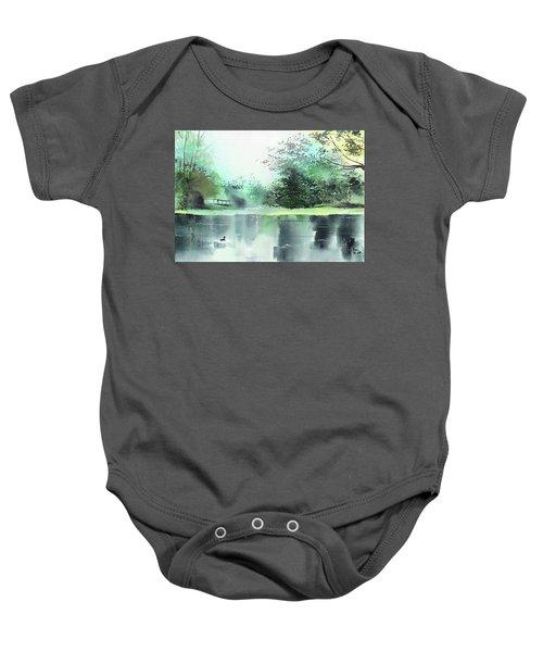 Lake 1 Baby Onesie