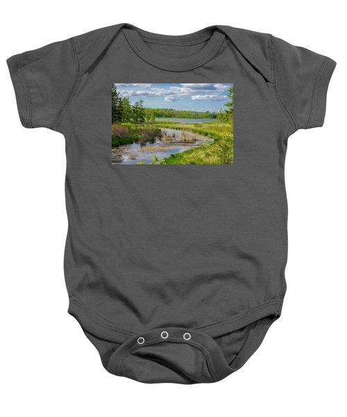 Lake Itasca Beauty Baby Onesie