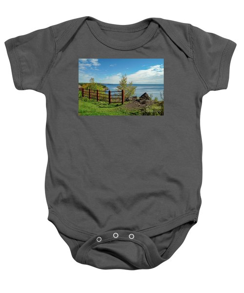 Lake Superior Overlook Baby Onesie