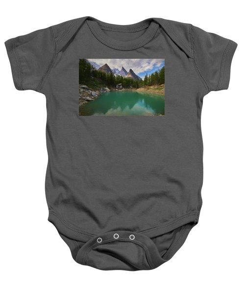 Lake Verde In The Alps II Baby Onesie