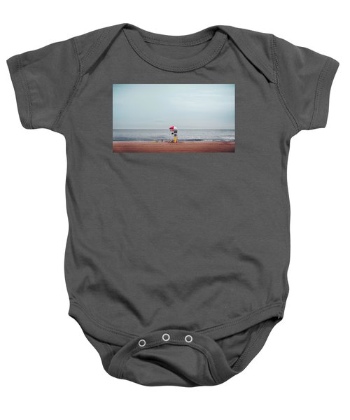Lifeguard Stand Baby Onesie