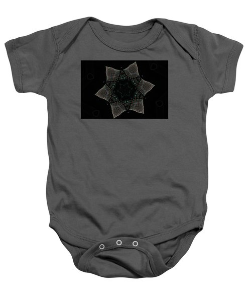 Lights Within A Star Baby Onesie
