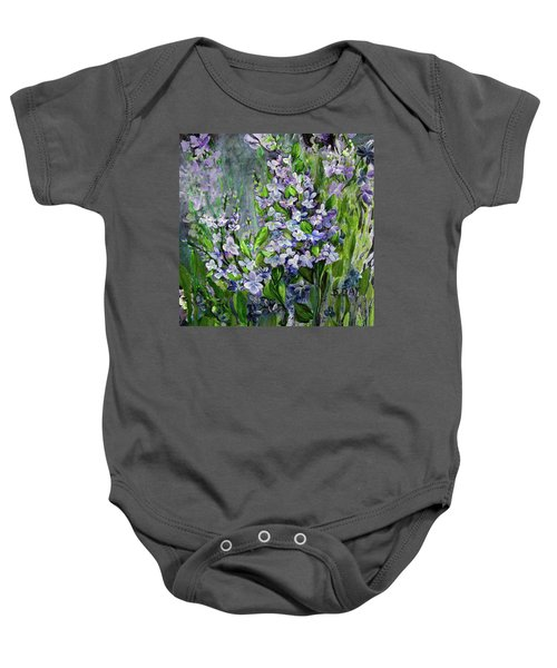 Lilac Dream Baby Onesie