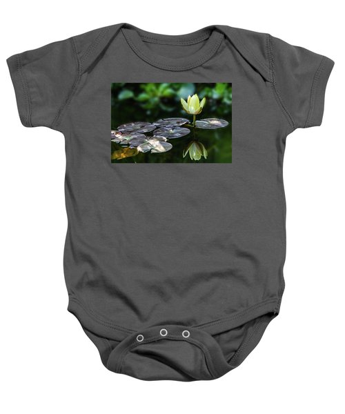 Lily In The Pond Baby Onesie