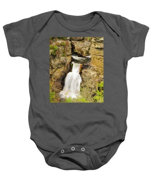 Linville Falls - Closeup Baby Onesie
