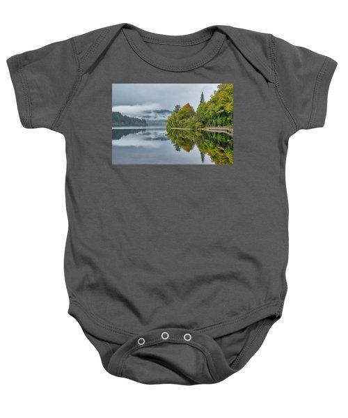 Loch Ard In Scotland Baby Onesie