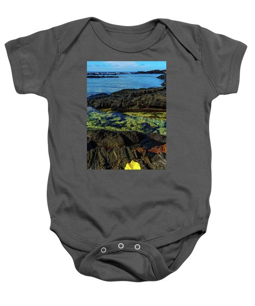 Lonely Leaf Baby Onesie