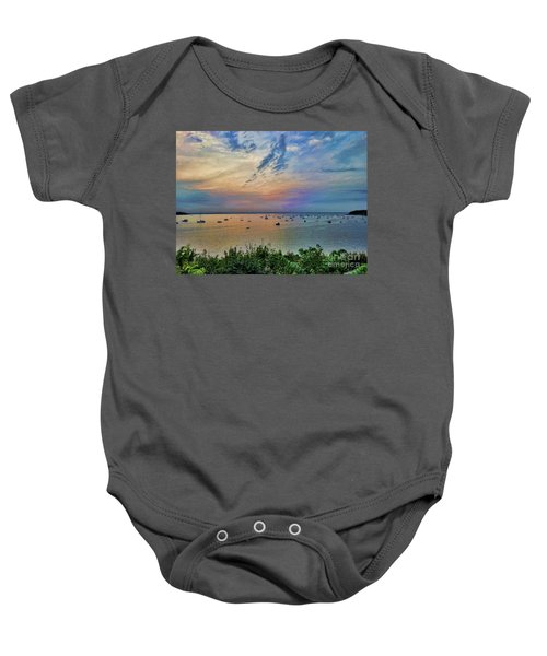 Long Island Sound From Glen Cove Baby Onesie