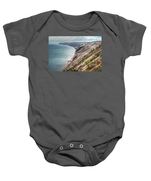 Long Slide Overlook Baby Onesie